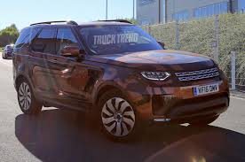 land rover explorer spied 2018 land rover discovery without camouflage