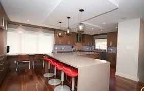 Modern Pendant Lighting For Kitchen Island Trio Of Solitaire Modern Pendants In Toronto