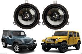 mopar jeep wrangler mopar 6 5 kicker speaker upgrade 2007 2016 jeep wrangler jk mopar