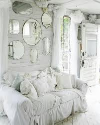 Wohnzimmer Deko Shabby Great Look With The Mirrors Surrounded By Shabby Chic Weiss