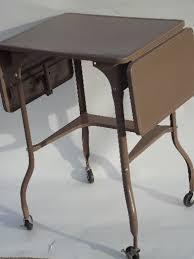 Metal Desk Vintage Vintage Typewriter Table Industrial Metal Desk Typewriter Stand Cart
