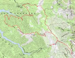 Fairfax County Map Pine Mountain Loop Bay Area Mountain Bike Rides