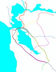 Bay Area Rapid Transit Map Tjprz U0027s Most Interesting Flickr Photos Picssr