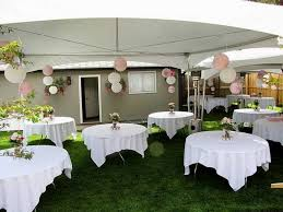 Ideas For Backyard Weddings Luxury Simple Wedding Decorations For House