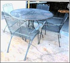Antique Wrought Iron Patio Furniture by Painted Wrought Iron Patio Furniture Patios Home Design Ideas