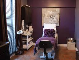 salon room beautiful deep purple esthetician room this is what i would want my