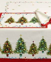 tree 52 x 70 tablecloth table linens dining