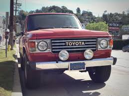 land cruiser vintage 1984 toyota land cruiser u2013 la car spotting