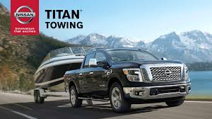 2017 nissan titan 2017 nissan titan towing features explained youtube