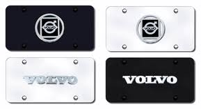 Front Vanity Plates Volvo License Plates Vanity Logo Tags Volvo
