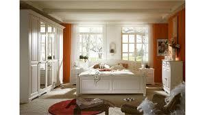 Schlafzimmer Bett 200x200 Set Pisa Pinie Weiß Gebürstet Teilmassiv