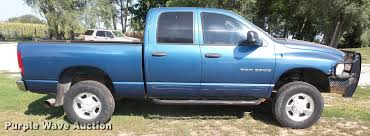 2004 dodge ram 2500 quad cab pickup truck item dc5358 we