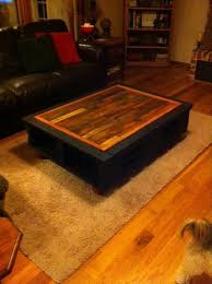 Diy Wooden Pallet Coffee Table by Diy Wooden Pallet Coffee Table 101 Pallets