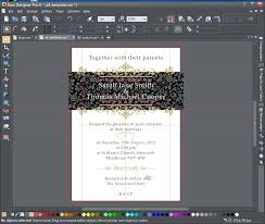 Wedding Invitation Software Creating A Wedding Invitation