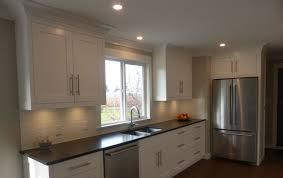 modern shaker kitchen white shaker kitchen custom hybrid modern shaker kitchen
