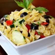 Pasta Salad Recipes With Italian Dressing Easy Cold Pasta Salad Recipe Allrecipes Com