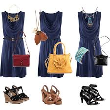 what color shoes go well with a navy blue dress style guru