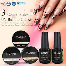aliexpress com buy french nail tips uv gel kit 363 canni brand
