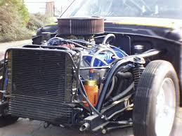 car front suspension race car