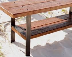 Wood Outdoor Bench Wooden Bench Etsy