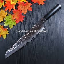 2017 new design 9 5 inch damascus steel chef knife kitchen knife