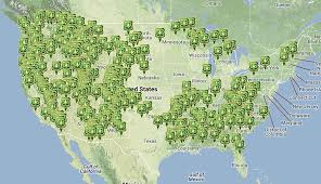 us map states national parks living in national forests for free