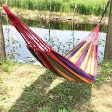 hammock travek summer camp portable outdoor garden hang bed rest