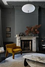 dark interior dark interior with a wood panelled kitchen coco lapine