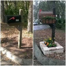 Walmart Planter Box by Best 25 Mailbox Planter Ideas Only On Pinterest Backyard Trees