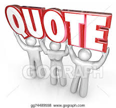 clipart quote 3d letters word lifted sales people request for