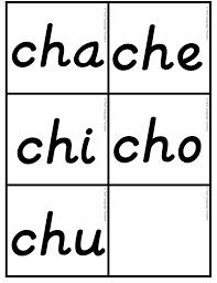 D Nealian Handwriting Worksheets Bilingual Dual Language D U0027nealian Silabas Con Ch Cha Che Chi Cho Chu