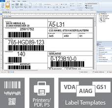 powerful barcode label printing software and label design program