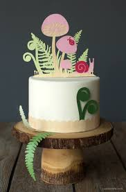 woodland cake toppers papercut woodland cake toppers lia griffith
