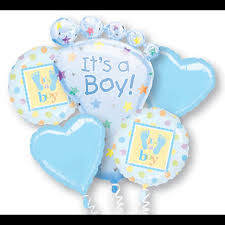 send balloons belfast balloon delivery new baby baby balloon bouquet