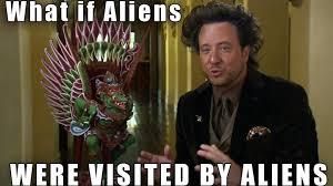 Giorgio Tsoukalos Aliens Meme - the untold truth of giorgio a tsoukalos