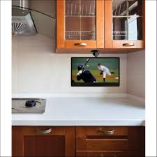 kitchen under cabinet tv kitchen tv s add an under cabinet tv that cabinets storage organization under the cabinet tv for the