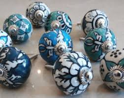 porcelain knobs for kitchen cabinets ceramic knobs etsy