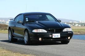 2004 Mustang Cobra Black Group A Wheels