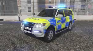 2016 Metropolitan Police Mitsubishi Shogun Traffic 4x4 Els