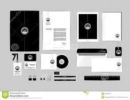 Letterhead And Business Card by Folder Blank Letterhead Envelope And Business Card Stock Photo