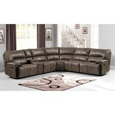 Leather Reclining Sofa Loveseat by Catnapper Catalina Leather Reclining Sectional Steel Hayneedle