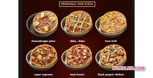 domino pizza ukuran large berapa slice harga pizza hut dan gambarnya disertai 14 menu pizza terbaru