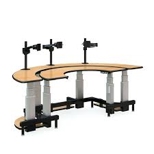 Ergonomic Standing Desk Setup Desk Dual Surface Semi Circle Standing Desk Ergonomic Stand Up