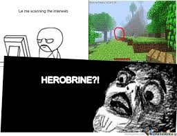 Minecraft Herobrine Memes - herobrine by mysticbeing meme center