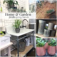 home and garden spring trends 2016