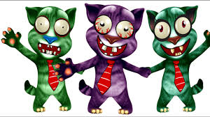 zombies my talking tom coloring pages for kids zombie coloring