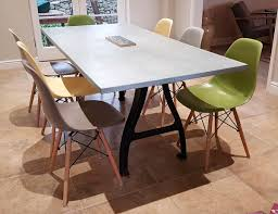 round metal dining room table zinc top dining room table dining room tables ideas