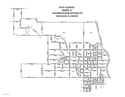 40th ward chicago map 1920