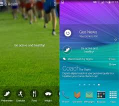 s health apk galaxy note 4 apps apk s voice s health s note snapbiz card