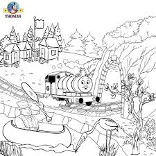 thomas coloring pictures pages print color kids activities